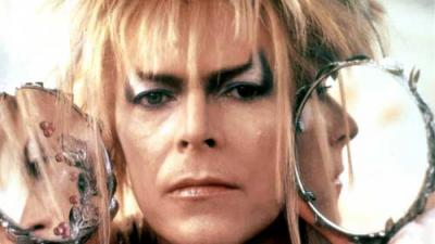 David Bowie as Jareth the Goblin King in Labyrinth.