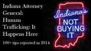 Logo for Indiana Human Trafficking anti-prostitution campaign