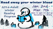 Read away your winter blues