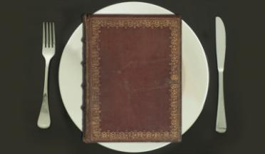 Book on a Plate