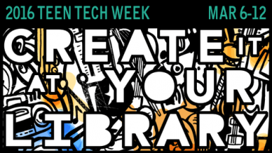 2016 Teen Tech Week Logo