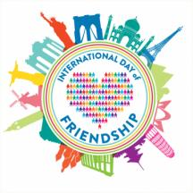 International Day of Friendship July 30, 2017