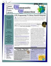 JCPL Programming: To Inform, Enrich & Empower