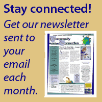 Get our newsletter in your email each month.