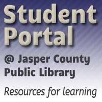 Student Portal at Jasper County Public Library