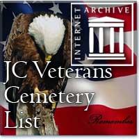JC Veterans Cemetery List at the Internet Archive