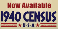 1940 Census Records Now Available