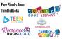 Graphics of TumbleBook platform logos