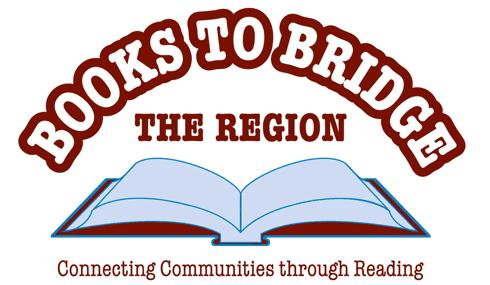 Books to Bridge the Region logo - an open book.